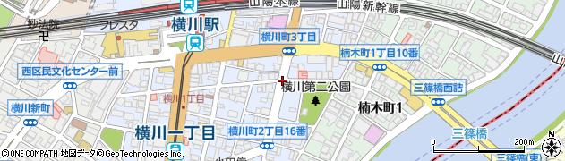 横川町3(南)周辺の地図