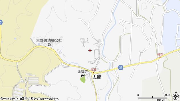 〒639-3106 奈良県吉野郡吉野町志賀の地図