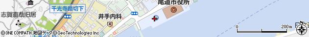 広島県尾道市周辺の地図