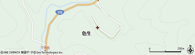 奈良県吉野町(吉野郡)色生周辺の地図
