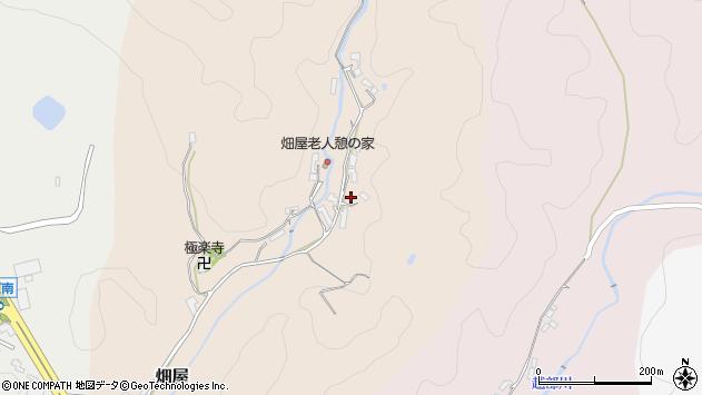〒638-0802 奈良県吉野郡大淀町畑屋の地図