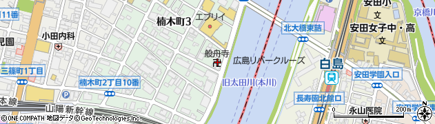 般舟寺周辺の地図