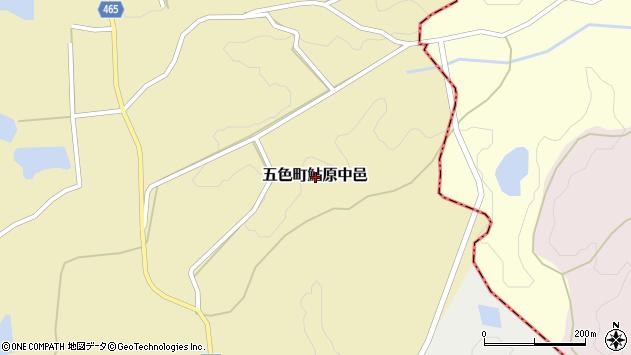 〒656-1321 兵庫県洲本市五色町鮎原中邑の地図
