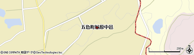 兵庫県洲本市五色町鮎原中邑周辺の地図
