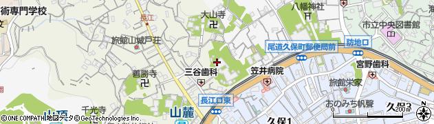 福善寺周辺の地図