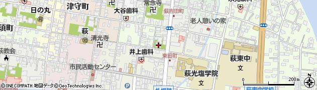 三千坊周辺の地図