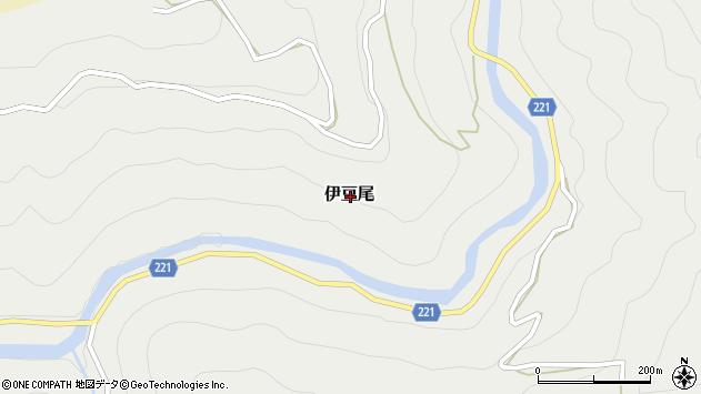 〒633-2312 奈良県吉野郡東吉野村伊豆尾の地図