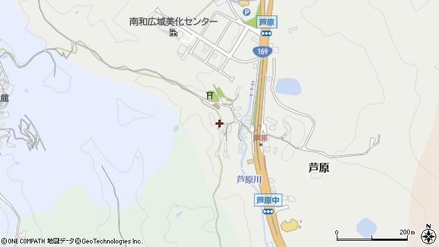 〒638-0801 奈良県吉野郡大淀町芦原の地図