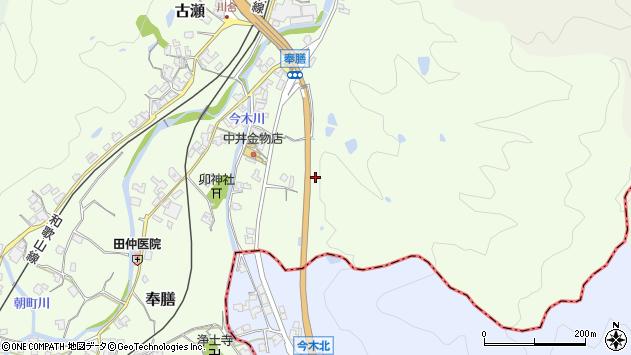 〒639-2253 奈良県御所市奉膳の地図