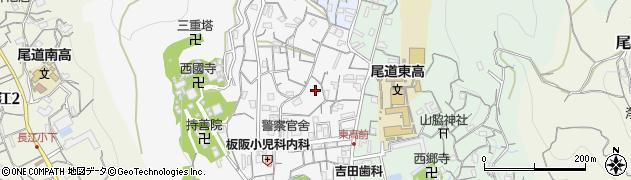 広島県尾道市西久保町周辺の地図