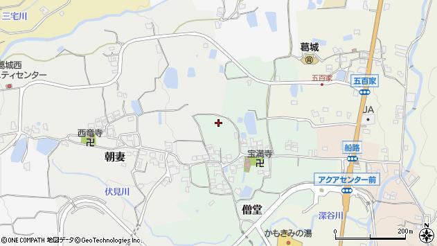 〒639-2342 奈良県御所市僧堂の地図