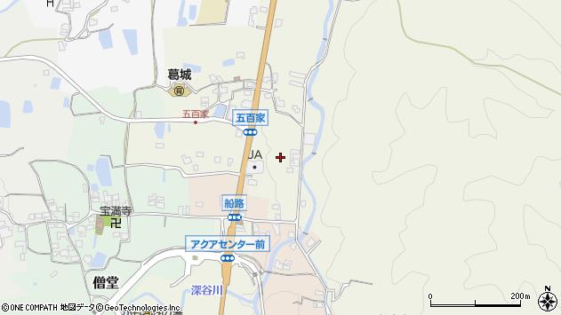 〒639-2264 奈良県御所市五百家の地図
