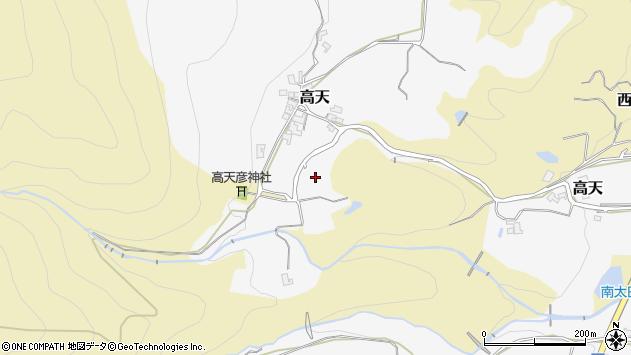 〒639-2336 奈良県御所市高天の地図