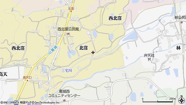 〒639-2334 奈良県御所市北窪の地図
