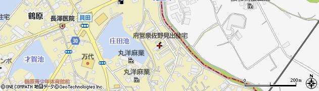 府営見出住宅周辺の地図
