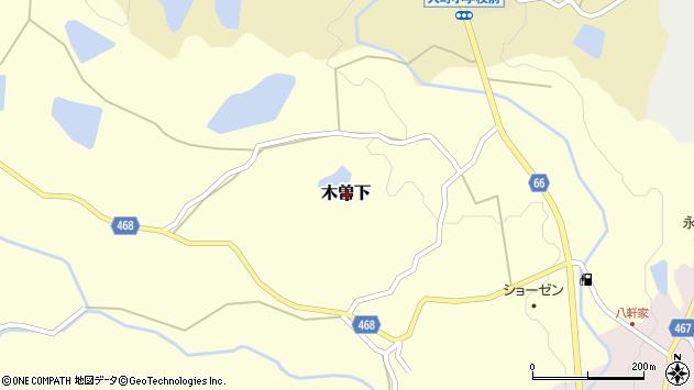 〒656-2154 兵庫県淡路市木曽下の地図