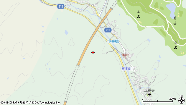 〒639-2255 奈良県御所市朝町の地図