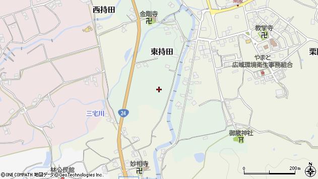 〒639-2262 奈良県御所市持田の地図