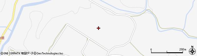 山口県萩市吉部下(麻生)周辺の地図