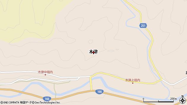〒633-2311 奈良県吉野郡東吉野村木津の地図