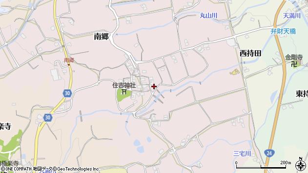 〒639-2331 奈良県御所市南郷の地図