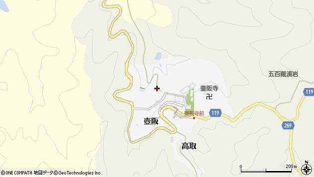 〒635-0102 奈良県高市郡高取町壺阪の地図