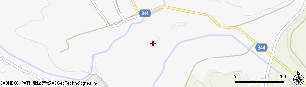 山口県萩市吉部下(大光寺)周辺の地図