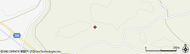 山口県萩市吉部上(湯の口)周辺の地図