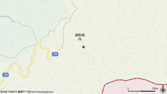 〒635-0101 奈良県高市郡高取町高取の地図