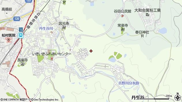 〒635-0121 奈良県高市郡高取町丹生谷の地図