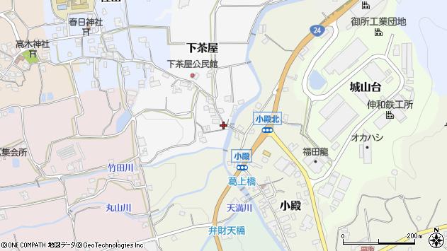 〒639-2324 奈良県御所市下茶屋の地図