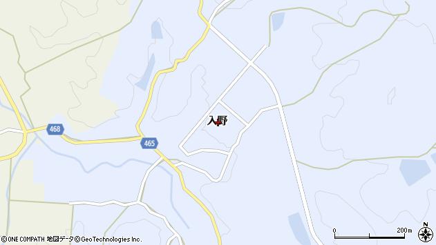 〒656-1552 兵庫県淡路市入野の地図