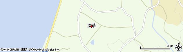 兵庫県淡路市深草周辺の地図