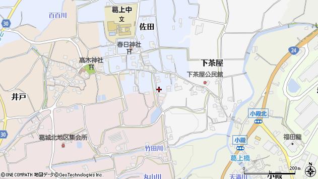 〒639-2325 奈良県御所市佐田の地図