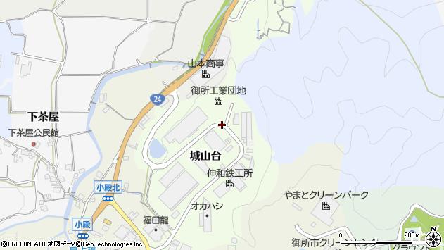 〒639-2261 奈良県御所市城山台の地図
