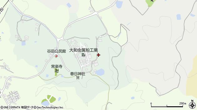 〒635-0122 奈良県高市郡高取町谷田の地図