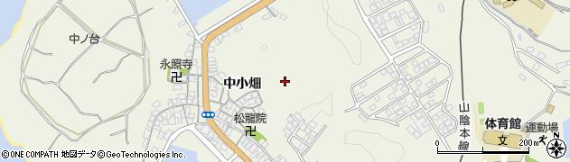 山口県萩市椿東(中小畑)周辺の地図