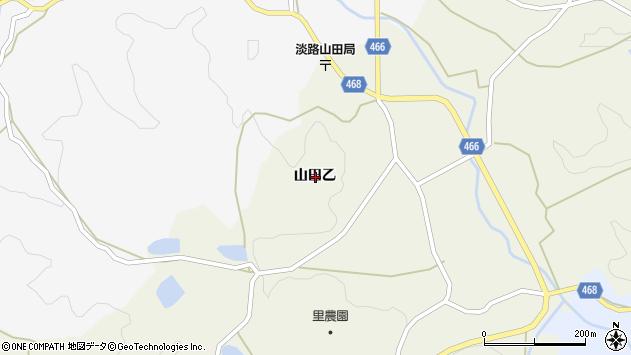 〒656-1553 兵庫県淡路市山田の地図