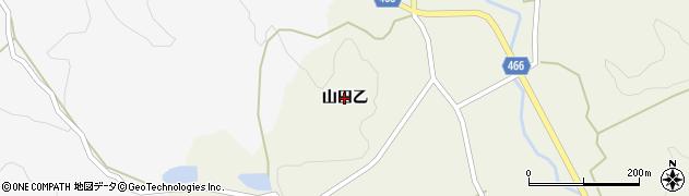 兵庫県淡路市山田(乙)周辺の地図