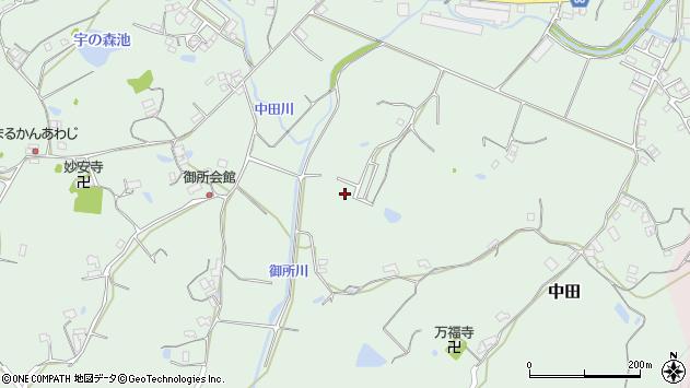 〒656-2163 兵庫県淡路市中田の地図