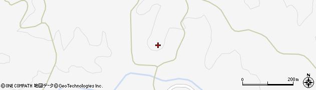 山口県萩市吉部下(柳)周辺の地図