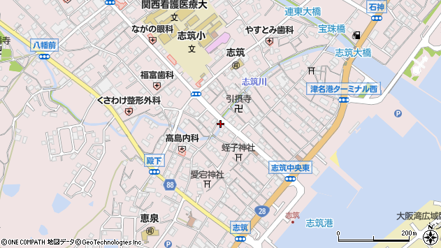〒656-2131 兵庫県淡路市志筑の地図