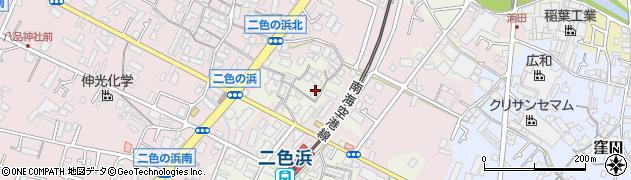大阪府貝塚市浦田周辺の地図