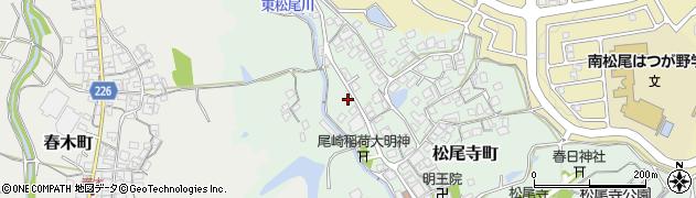 大阪府和泉市松尾寺町周辺の地図