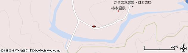 島根県吉賀町(鹿足郡)柿木村柿木(柳原)周辺の地図