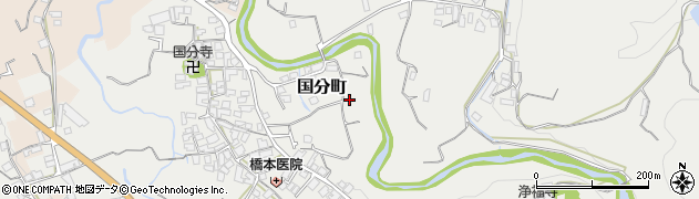 大阪府和泉市国分町周辺の地図