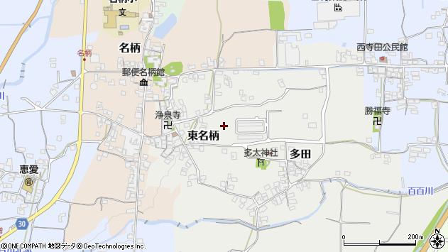 〒639-2322 奈良県御所市東名柄の地図