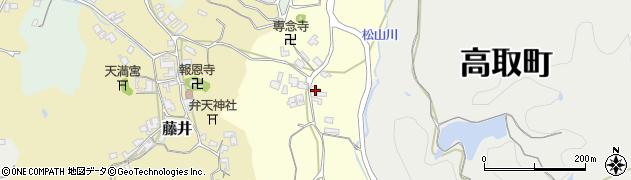 奈良県高市郡高取町羽内305周辺の地図