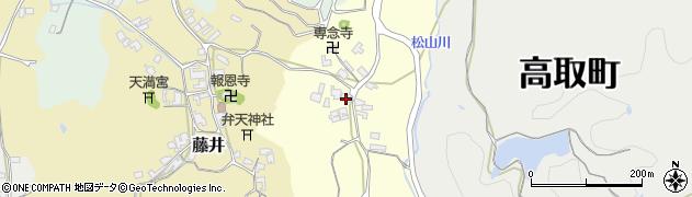 奈良県高市郡高取町羽内306周辺の地図