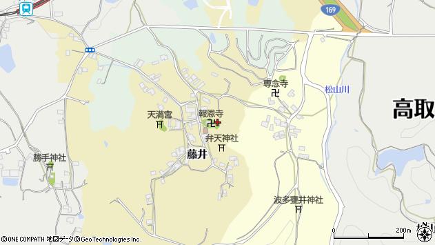 〒635-0112 奈良県高市郡高取町藤井の地図